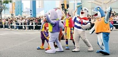 图文:香港活动周昨天开幕 将呈现视觉盛宴