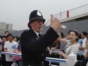 """俏皮""""英国警察"""""""