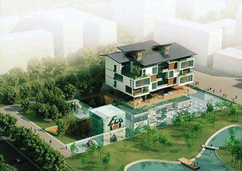 世博园涌动未来住宅灵感 汉堡之家可回收热量