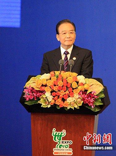 温家宝:世博成功举办坚定中国改革开放信心