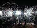 高清:世博会开幕式焰火表演点亮璀璨夜空