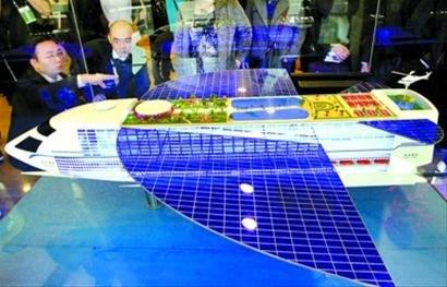 未来船舶模型将常驻船舶馆继续向公众展出