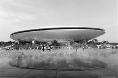 世博文化中心将成新地标 未来每年办百场演出