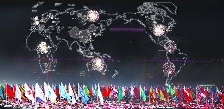 世博开幕式:一个惊艳的开始 期待又一个奇迹