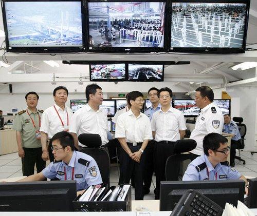 每天3万安保守护世博园 上海刑事案件降四成