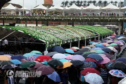 上海世博会参观人数破7000万 超过预测数字