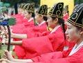 高清:韩国首尔重现朝鲜时代社稷大祭