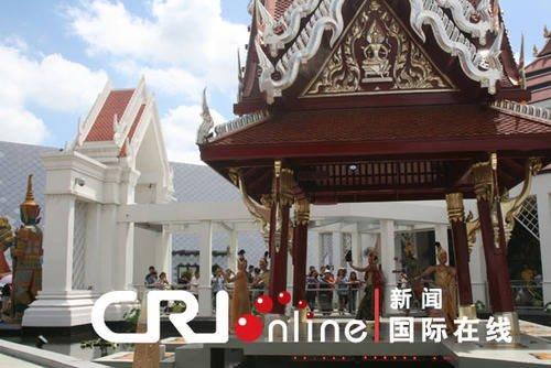 泰国馆馆长:上海世博展现中国巨大发展潜力