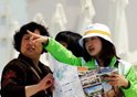 组图:7000名志愿者服务上海世博会