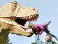 """高清:乌克兰""""恐龙世界""""展 吸引千万游客"""