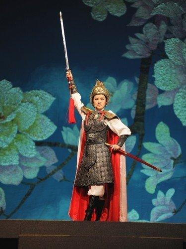 """中西合璧《木兰诗篇》在上海世博会""""绽放"""""""