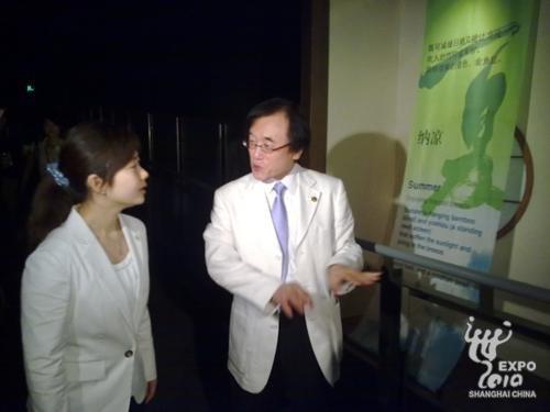 日本馆馆长:日中友好是日本馆最重要的主题