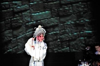 京剧音乐剧惊艳世博园 乐曲表演影像融于一炉