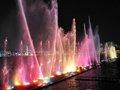 浪漫的世博园音乐喷泉