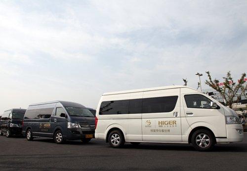 """海格公务商旅车与明星一起""""带你看世博"""""""