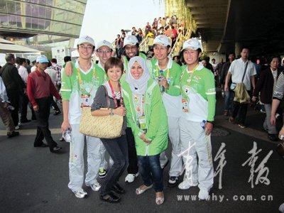 """沙特馆举办""""志愿者无国界""""主题激励日活动"""