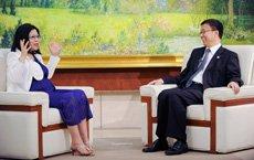 韩正接受台媒专访:错过办世博是对历史犯罪