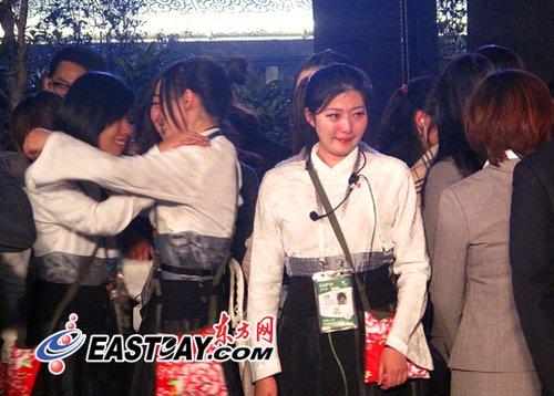 图片说明:美丽的台湾馆在10月31日晚向上海世博告别