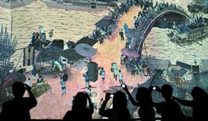 揭秘中国馆:《清明上河图》动起来的秘密