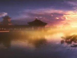 时光流转,参观者仿佛穿越千年置身于盛唐王朝皇宫之中,见证一座座宫殿图片