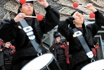 西班牙风笛奏《茉莉花》 爱尔兰跳派对踢踏舞
