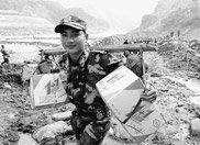 """汶川地震:面对生死考验 从""""不管闲事""""到""""勇于担当"""""""