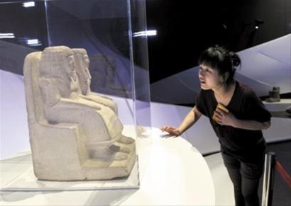 埃及国宝总保额达40万美元 年龄最大超3500岁