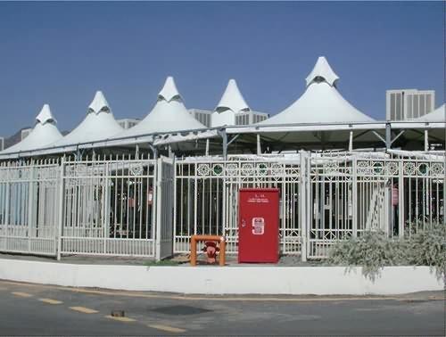沙特米纳案例馆:帐篷生活新概念