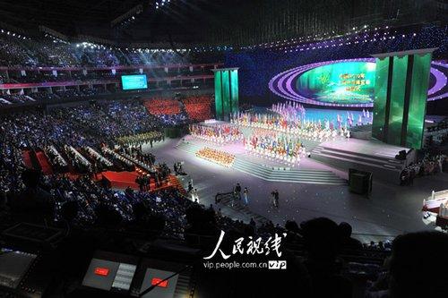 图文:上海世博会闭幕式 现场精彩文艺演出