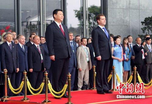俄总统赞上海为工业文化中心 有望看到俄电视