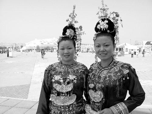 贵州侗族歌手:用我们的大歌迎接上海世博