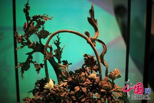 广西馆展示清秀山水 桂香四溢独具民族特色