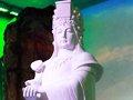 福建馆汉白玉妈祖雕像