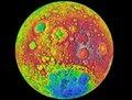 组图:美国绕月卫星升空一年十大发现