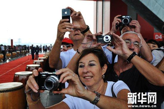 外国政要齐赞中国馆 称提高世博会展示层次
