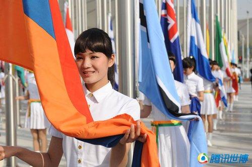 世界相约黄浦江畔 上海世博会开幕式今晚举行