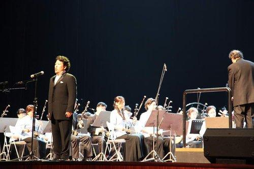 日本顶尖艺术家演绎红色经典《我爱你中国》
