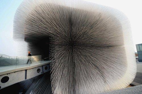 """2010年上海世博会英国馆--""""种子圣殿"""""""