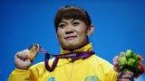 伦敦奥运第46金 女子举重63公斤马内加