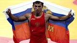 伦敦奥运第155金 男子摔跤古典式74公斤 俄罗斯