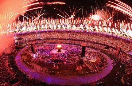 伦敦开幕式点火仪式