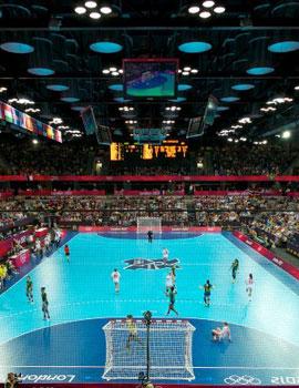 奥运手球比赛360全景图(2)