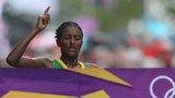 伦敦奥运第140金 女子马拉松 加拉那