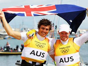 帆船男子快速艇澳大利亚夺金