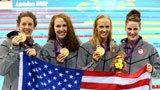 伦敦奥运第73金 女子4x200自由泳美国队