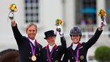 伦敦奥运第187金 马术盛装舞步团体 英国