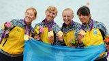 伦敦奥运第55金 女子4人双桨乌克兰