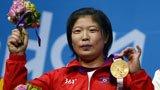 伦敦奥运第65金 举重69公斤级林忠欣