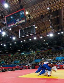 奥运柔道比赛360全景图