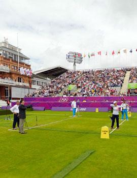 奥运射箭比赛360全景图(2)